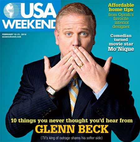 glenn beck book cover. USA Weekend interviewed Glenn