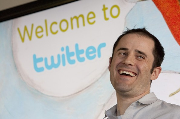 Twitter's CEO, Evan Williams