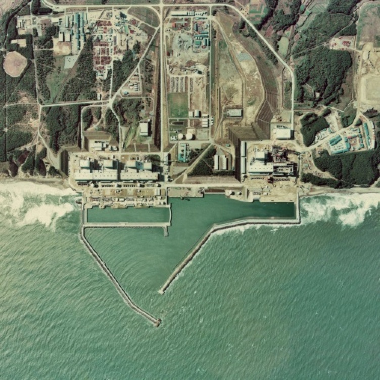 radioactive Fukushima Daiichi nuclear plant