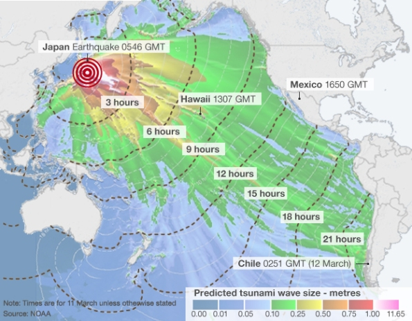 animated ocean currents map of Fukushima Japan radiation – Map Uk Nuclear Power Stations