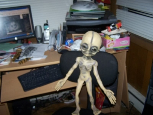 Boyd Bushman Fake Alien (Doll) Hoax Picture